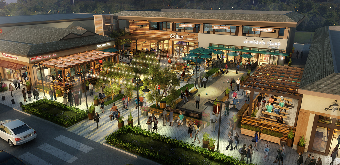 Rossmoor Town Center Sgpa Architecture And Planning