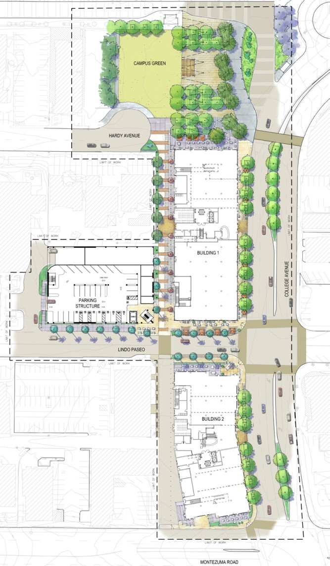 SDSU South Campus Plaza Parking Structure - SGPA Architecture and ...