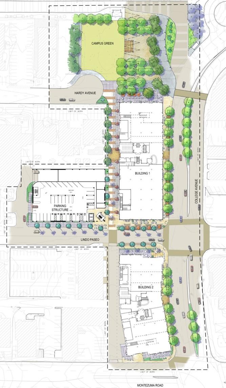 SDSU | South Campus Plaza Parking Structure - SGPA ...